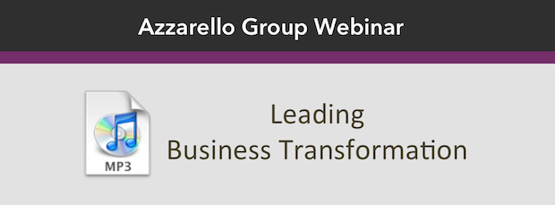 Leading Business Transformation