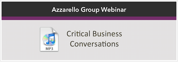 Critical Business Conversations