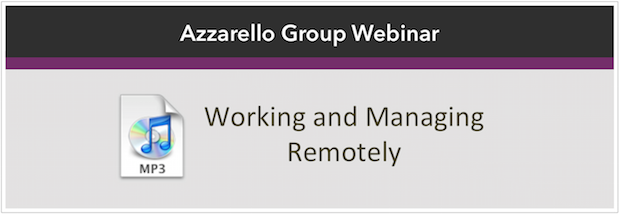 working managing remote