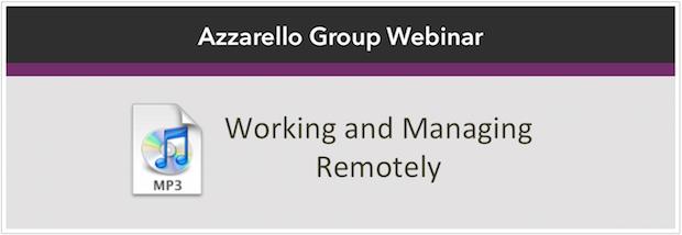 working managing remote