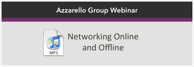 Networking Online and Offline