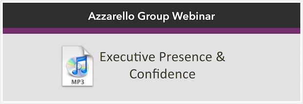 executive presence icon