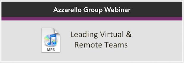 Virtual and Remote Teams